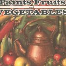 Leon Franks Paints Fruits and Vegetables Walter T Foster 92 Vintage Art
