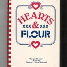 Hearts & Flour Cookbook 0962035300 Regional By The Womens Club Of Pittsford New York