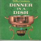 Betty Crockers Dinner In A Dish Cookbook Vintage First Edition