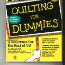 Quilting For Dummies 0764551183