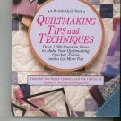 Quiltmaking Tips and Techniques 0875965881