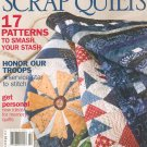 McCalls Quilting America Loves Scrap Quilts 17 Patterns 2008