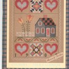 Country Folk Calendar 1989 by Laura J Conley With Stitch Patterns