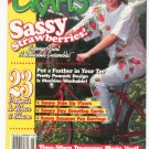 Wearable Crafts June 1995 Sassy Strawberries