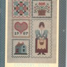 Country Days Calendar 1987 by Laura J Conley With Stitch Patterns