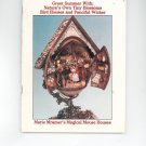 Nutshell News May 1986 Bird Houses & Fanciful Wicker How To Miniatures
