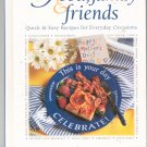 The Pampered Chef Food Family & Friends Cookbook