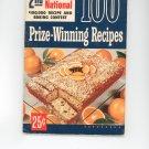 Pillsburys 2nd Grand National Prize Winning Recipes Cookbook Vintage First Edition 1951