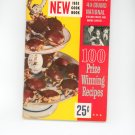 Pillsburys 4th Grand National 100 Prize Winning Recipes Cookbook Vintage First Edition 1953