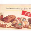 The Fleischmanns New Treasury Of Yeast Baking Cookbook