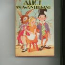 Alice In Wonderland by Lewis Carroll & Through The Looking Glass Goldsmith Vintage Dust Jacket