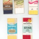 Vintage Lot Assorted Sewing Supplies Wrights Talon Star Bias Tape Plus