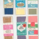 Vintage Lot Assorted Sewing Supplies Wrights & Penneys Seam Binding & Bias Tape