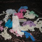 Vintage Lot Assorted Lace Type Pieces