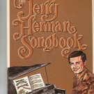 The Jerry Herman Songbook Piano Vocal Vintage Edwin H Morris & Company HH40