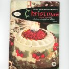 Good Housekeeping's Christmas Cook Book Cookbook Vintage B