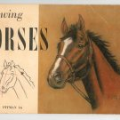 Drawing Horses Revised by Gladys Emerson Cook Vintage Pitman 16  Art