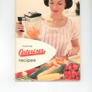 Custom Osterizer Vintage  Cookbook Model 541 Plus Warranty Card And More