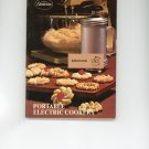 Sunbeam Portable Electric Cookery Cookbook Mixmaster Mixer Vintage Manual 875020089