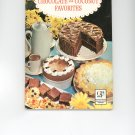Bakers Chocolate And Coconut Favorites Cookbook by General Foods Vintage