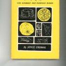 Lively Lemon Recipes Cookbook by Joyce Crumal Vinatge 1967