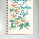 Appetizers Southern Style Cookbook Junior League Noth Carolina 0941162117