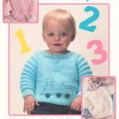 Adorable Babies Too by Carol Prior Knit Leisure Arts 745