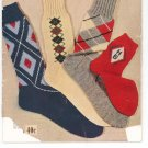 Bear Brand Hand Knit Socks For Men Women Children Vintage  Volume 340