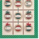 Christmas Patches Fiddlepatch Designs Robin Designs Number 29 MPR Associates