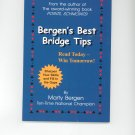 Bergen's Best Bridge Tips by Marty Bergen 0974471410 Card Game Signed