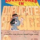 Adventures In Duplicate Bridge American Contract Bridge League 0943855020 Card Game
