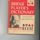 Bridge Player's Dictionary by Terrence Reese Vintage 1963 Card Game