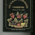 The Stenciled Strawberry Cookbook Regional Junior League New York 0961401206