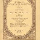 Hohmann's Practical Method Violin Book 4 Vintage Schirmer 1926