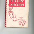 Pitchin In The Kitchen Cookbook 1951 Regional Hospital New York Twig Twigs Vintage