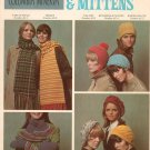 Columbia Minerva Hats Scarfs & Mittens  Knit Vintage Number 2515
