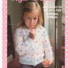 Susan Bates Sugar 'n Spice Girls Sweaters Knit Number 17665