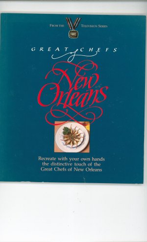 Great Chefs Of New Orleans Cookbook 0929714008  PBS Television Series