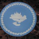 Wedgwood Christmas Collector Plate 1973 Tower Of London With Box