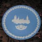 Wedgwood Christmas Collector Plate 1974 The Houses Of Parliament With Box