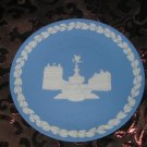 Wedgwood Christmas Collector Plate 1971 Piccadilly Circus With Box