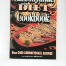 Carbohydrate Diet Cookbook Vintage 1977
