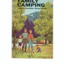 Family Camping Keep It Sensible Keep It Safe Vintage 1968 National Safety Council