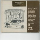 Think Small Volkswagen Vintage 1967