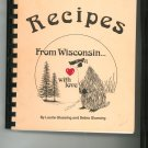 Recipes From Wisconsin With Love Cookbook by Gluesing 0913703052