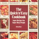 The Quick n Easy Cookbook by Alison Burt 051743928x