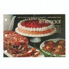 Betty Crocker's Say It With Dessert Bisquick Cookbook Vintage 1973