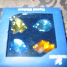Swarovski Set Of 4 Fish Stickers With Box & Certificate 9460 200 027