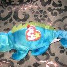 Ty Iggy The Iguana With Tag Retired Beanie Baby
