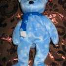 Ty 1999 Holiday Bear With Tag Retired Beanie Baby